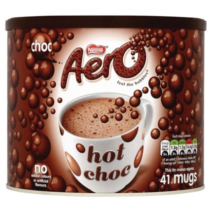 Chocolate, cappuccino & mixed taste drinks