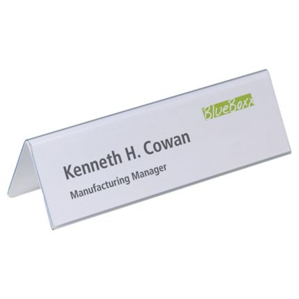 Place names & tent cards