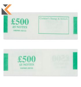 Notebands £500 In £5 - [Pk500]