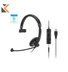 Sennheiser Premium Binaural PC Headset USB - [3.5mm]