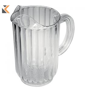 Rubbermaid Clear Polycarbonate Bouncer Pitcher - [1.4 Litre] Capacity