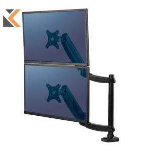 Fellowes Series Platinum Dual Stacking Monitor Arm