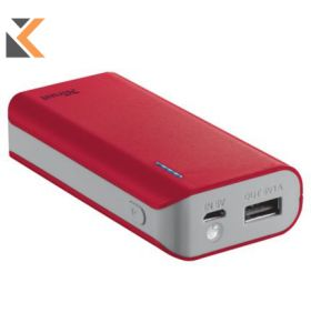 Primo PowerBank 4400 red Portable Charger