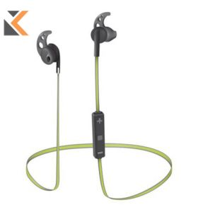 Sila Bluetooth Wireless Binaural Earphones - [Black/Lime]