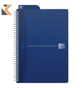 Oxford Office Essentials B5 Card Cover Wirebound N/Bk Ruled Asstd Col - [180 Pages]