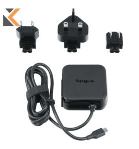 Targus Universal USB C Mains Charger [45 Watts] - Black