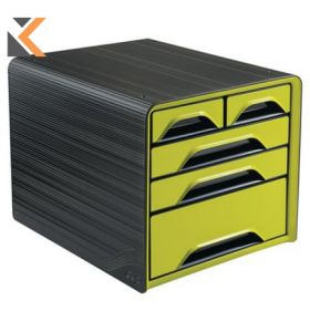 Cep Gloss - [5-Drawers] Mixed Sizes Unit Anise