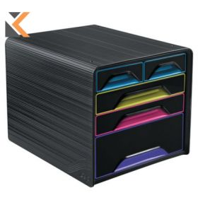 Cep Gloss - [5-Drawers] Mixed Sizes Unit Multicolor