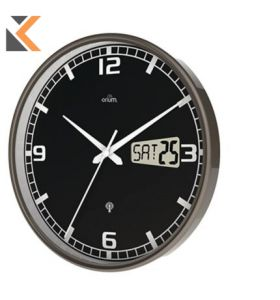 Cep - [11076 ]Clock With Digital Screen Radio Controlled