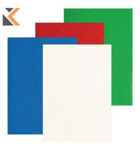 Pavo Glossy Leather Covers Assorted Pack of 100 - [8013432]