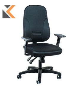 Interstuhl - [1452] Black Synchron Chair