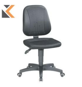 Interstuhl Black Draughtsman's Swivel Chair