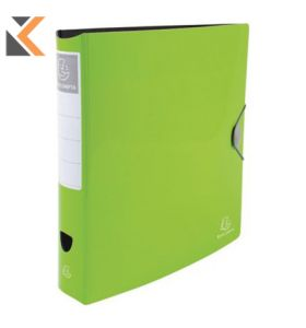 Iderama PP Lever Arch File, 2Rings, 75mm Spine - Green Lime - [32X30cm]