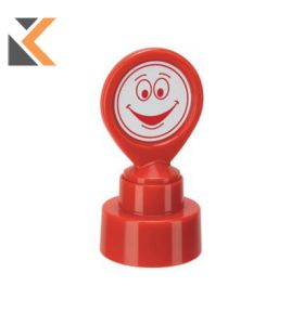 Colop School Stamp HappyFace Red - [147165]