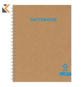 Silvine Kraft Recycled A4 Notebook