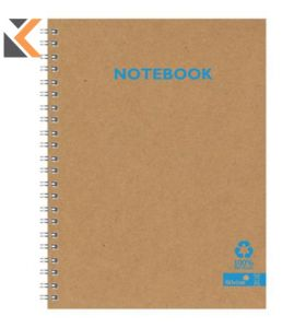 Silvine Kraft Recycled Twinwire A4 Notebook