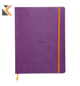 Rhodia Soft Cover Notebook Purple - [190x250mm]