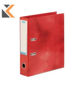 Elba Strongline Classy Lever Arch File A4+ 56mm Capacity, Red Spine - [70mm]