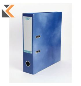 Elba Strongline Classy Lever Arch File A4+ 56mm Capacity, Blue Spine - [70mm]