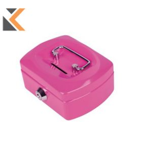 Pavo - [8007400] Cash Box Steel Pink