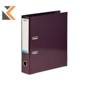 Elba Strongline Classy Lever Arch File A4+ 56mm Cap, Spine Metallic Purple - [70mm]