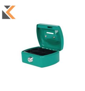 Pavo - [8007394] Cash Box Steel Green