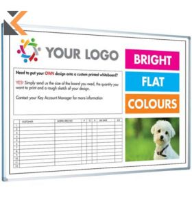Magiboards Customised Whiteboard - [1800mm X 1200mm]