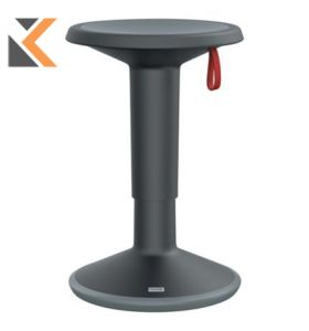 Interstuhl [UP100U] Ergonomic Stool - Black