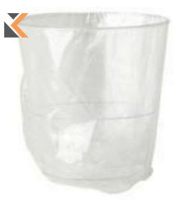 Wrapped Tumblers 9Oz Clear- [Pk1000]