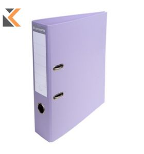 Exacompta Lever Arch File PVC A4 Lilac - [70mm]