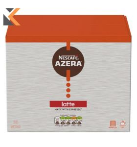 Nescafé Azera Latte Instant Coffee Sachet 18G-  [Box of 35]