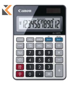 Canon LS-122TS - [12 Digit] Desktop Calculator