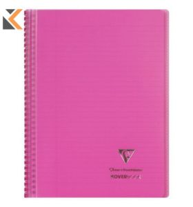 Clairefontaine Koverbook - [A5+ Pink]