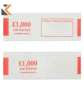 Notebands £1000 In £20 - [Pk500]
