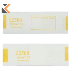 Notebands £500 In £50 - [Pk500]