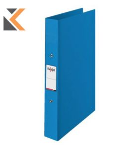 Rexel Choices A4 Ring Binder, 2 O-Ring, Blue - [25mm Spine]
