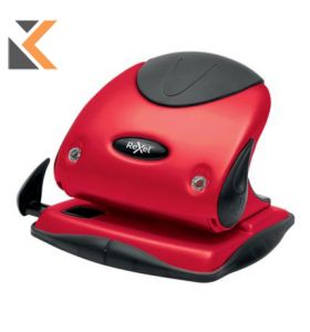 Rexel Choices P225-2 Hole Punch Metal Red - [25 Sheet]
