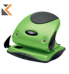 Rexel Choices P225-2 Hole Punch Metal Green - [25 Sheet]