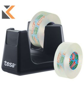 Tesa Ecologo Smart Black Dispenser +2 Rlls - [53904]