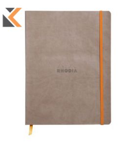 Rhodia Soft Cover Notebook Taupe - [190x250mm]
