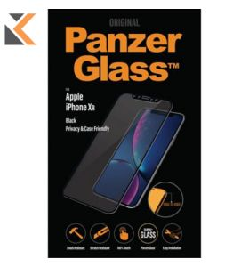 Panzerglass Apple Iphone XR Case Friendly, Black - [Screen Protector]