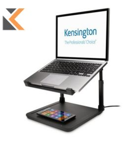 Kensington Riser Laptop With Wireless Charge Pad