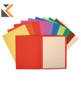 Forever Square Cut Folder, 220G, 24X32cm - Assorted Colours - [Pack of 100]