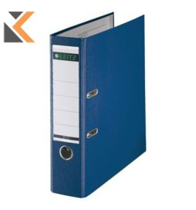 Leitz 180° Lever Arch File Classic Marbled Blue A4 - [80mm]