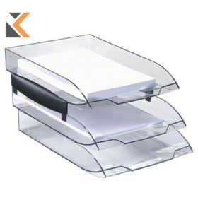 Cep ICE Letter Tray Risers - Black - [Pack of 2]