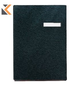 Esselte Black 245mm X 340mm Signature Book - [20 Page]