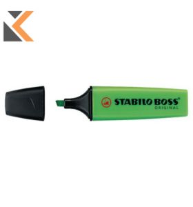 Stabilo Boss Green Highlighters - [Box of 10]