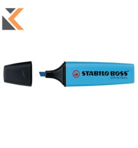 Stabilo Boss Blue Highlighters - [Box of 10]