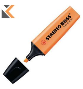 Stabilo Boss Orange Highlighters - [Box of 10]