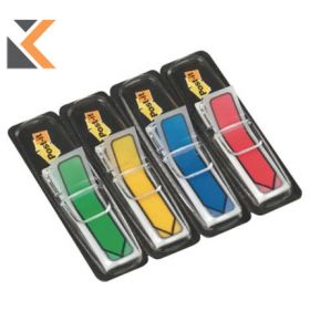 Post-It Index Flags Arrows 12mm 25 Each In - [4 Colours]
